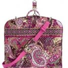 NWT Vera Bradley Garment Bag in Very Berry Paisley