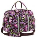 NWT Vera Bradley Grand Traveler in Purple Punch