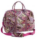 NWT Vera Bradley Grand Traveler in Very Berry Paisley