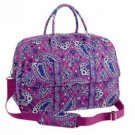 NWT Vera Bradley Grand Traveler in Boysenberry