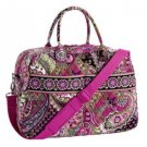 NWT Vera Bradley Weekender in Very Berry Paisley