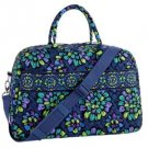 NWT Vera Bradley Weekender in Indigo Pop