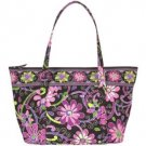 NWT Vera Bradley Miller Bag in Purple Punch