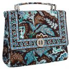 NWT Vera Bradley Julia Handbag in Java Blue
