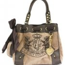 NWT Juicy Couture Daydreamer Tote Rich Camel YHRU2533