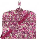 NWT Vera Bradley Garment Bag in Paisley Meets Plaid