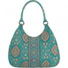 NWT Vera Bradley Large Hobo Totally Turquoise.