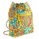 NWT Vera Bradley Backsack Provencal