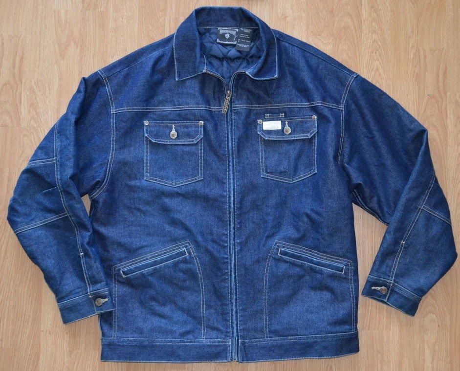 N907 Men's Denim Jacket Rocawear Size L