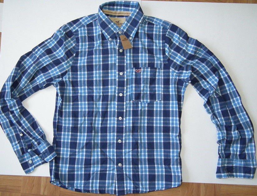 J124 New Men's shirt HOLLISTER Size M