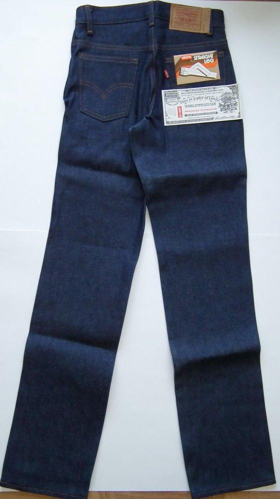 K5A New Boy's jeans LEVI'S 720-0217 Student W26  26x35 Heavyweight Denim