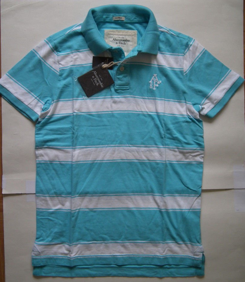 I819 New Men's Polo Shirt  ABERCROMBIE & Fitch  Size XL