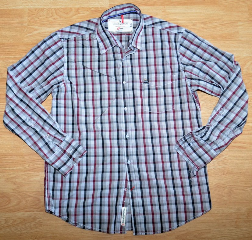 N721 Men shirt BEACH PEBBLE Size XL Oxemberg