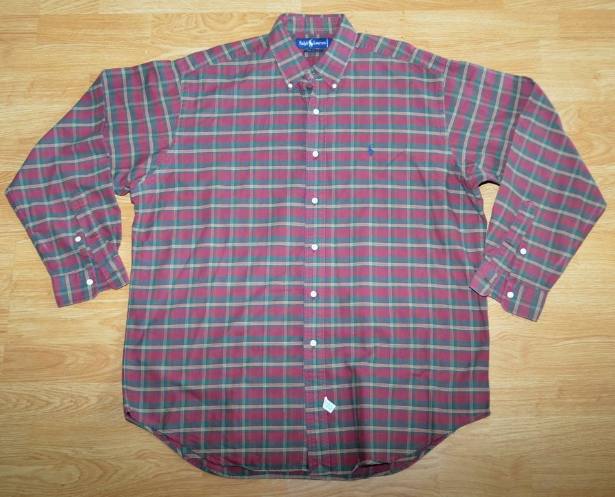 N710 Men's shirt RALPH LAUREN Size L