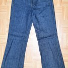 N637 Women's jeans J.CREW Size 2 27x31 Indigo Made in USA