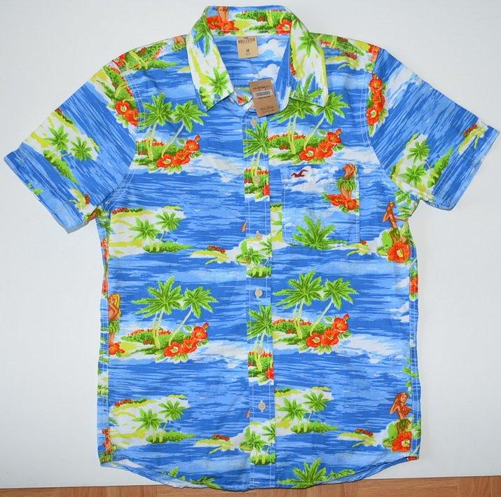 L683 New Men shirt HOLLISTER Size M