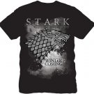 Licensed Graphic T-shirt GAME OF THRONES Stark Winter is Coming Size S