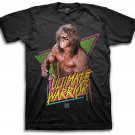 Mens Graphic Tee WWE 90'S ULTIMATE WARRIOR Adult T-shirt Size S