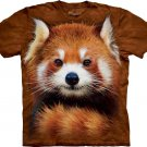 The Mountain Boys Graphic Tee Red Panda Portrait Youth T-Shirt Size M