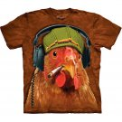 The Mountain Graphic Tee Fried Chicken T-Shirt Size L