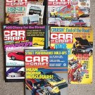 CAR CRAFT MAGAZINE LOT of 5 1979 - 1986   #2