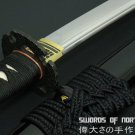 Japanese Samurai Sword Hand Forged Manganese Steel Blade Traditional Wakizashi & Cloth Sword Bag
