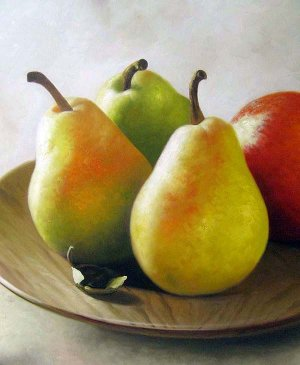 "Group of Pairs Still life 20"" x 24"" Original Oil"