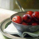 "Group of Plums Still life 20"" x 24"" Original Oil"