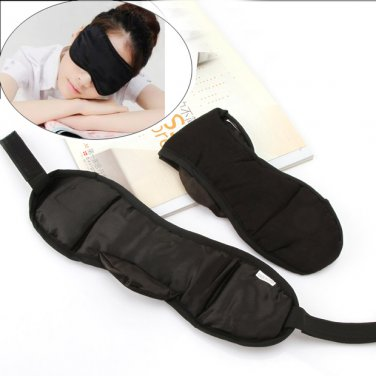 Travel Bus Essential Portable Sleep Eye Mask With Velcro