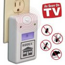 NEW RIDDEX Electronic Ultrasonic Pest Repellent Repelling Aid 110V