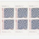 PORTUGAL 1981 TILES MINIATURE SHEET TYPE 1 MINT NO HINGE