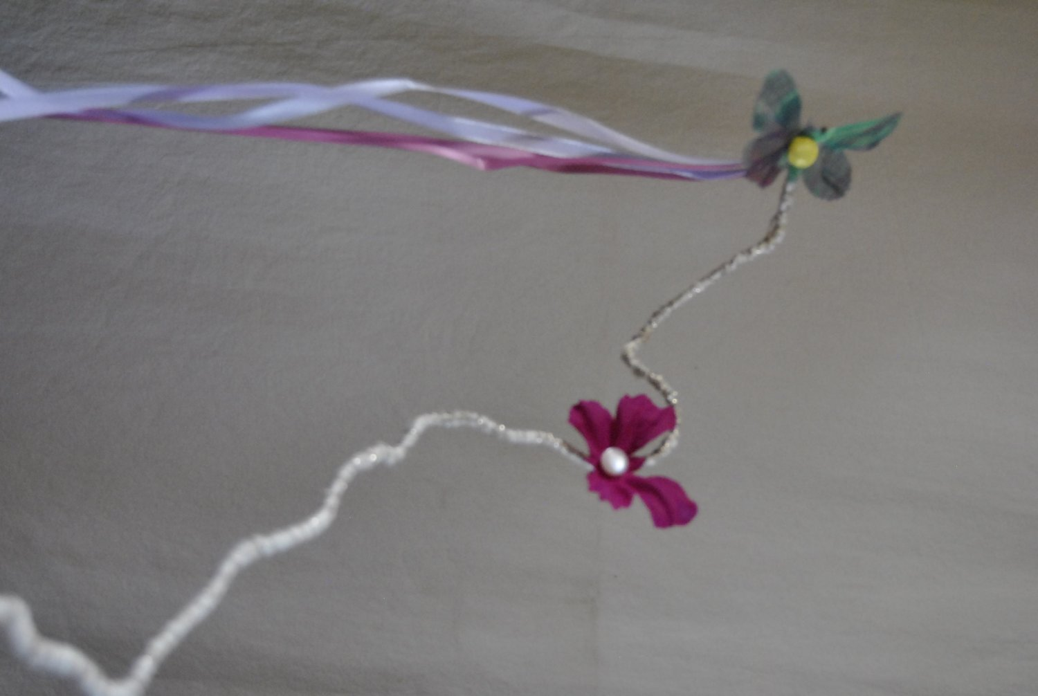 Sparkle Butterfly Wand
