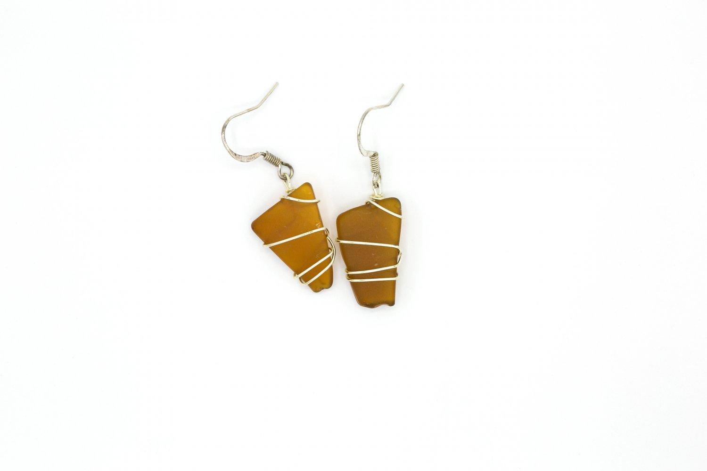 Seneca Lake Glass Earrings