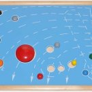 Montessori SOLAR SYSTEM (Astral) Map of Planets & Stars