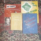 SHEET MUSIC VINTAGE PIANO LOT #3