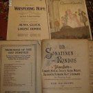 VINTAGE PIANO SHEET MUSIC LOT #2