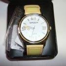 Gruen watch yellow strap