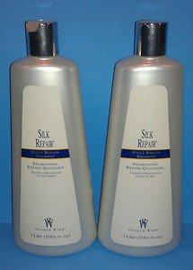 2 Graham Webb Silk Repair Daily Repair Shampoo - 33.8 oz each - Liter Size