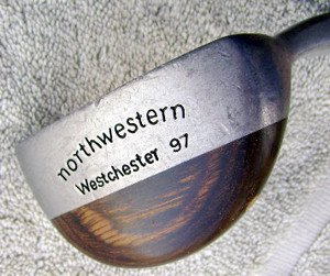 Vintage Northwestern Westchester 97 Compound Mallet Putter Very Rare!