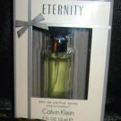 Calvin Klein ETERNITY Eau de Parfum Spray .5 fl.oz New in Gift Box