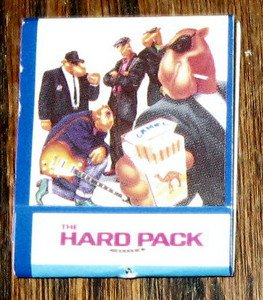 "Vintage Camel ""The Hard Pack"" Floyd Cigarettes Matchbook Matches Advertising"