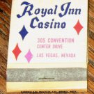 Vintage Royal Inn Casino Las Vegas Nevada Matchbook