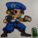Resident Evil Jill Valentine Perler Bead Art