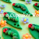 A very Hungry Caterpillar Cupcake Topper