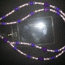 Purple Cross Lanyard