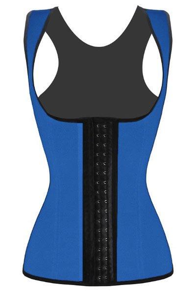 Blue Waist Cincher Underbust Corset