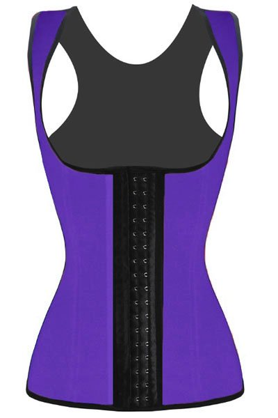Purple Waist Cincher Underbust Corset
