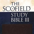 The Scofield Study Bible NKJV Indexed Burgundy