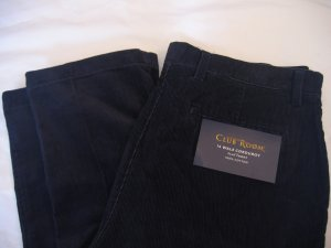 NWT Men's Club Room Corduroy Pants Sz 33x32