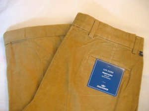 NWT Men's Dockers Corduroy Pants Sz 36x32